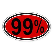 99 Percent Decal