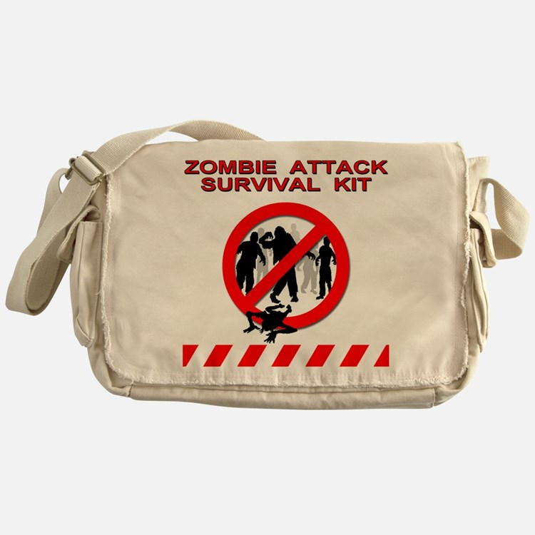 Zombie Survival Kit - Messenger Bag