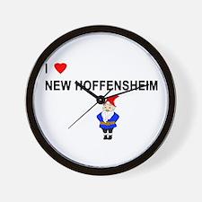 New Hoffensheim Wall Clock