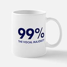 Vocal Majority (blue) Mug