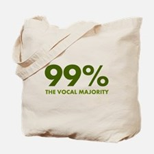Vocal Majority (green) Tote Bag