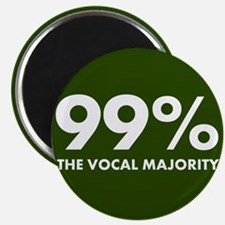 Vocal Majority (green) Magnet
