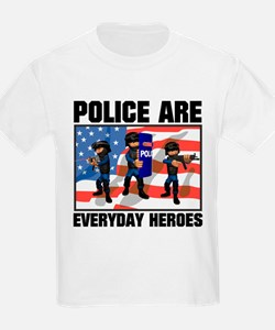 Police are Heroes T-Shirt