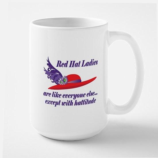 Hattitude Large Mug
