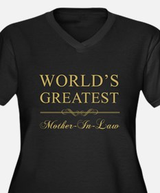World's Greatest Mother-In-Law Women's Plus Size V
