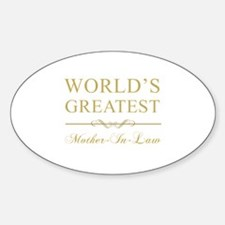 World's Greatest Mother-In-Law Decal