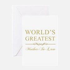 World's Greatest Mother-In-Law Greeting Card