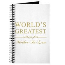 World's Greatest Mother-In-Law Journal