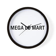 Mega Lo Mart Wall Clock