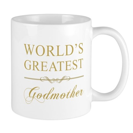 World's Greatest Godmother Mug