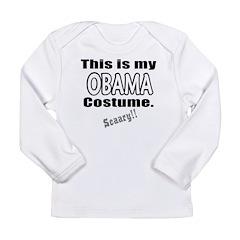 Obama Costume Long Sleeve Infant T-Shirt