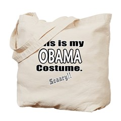 Obama Costume Tote Bag
