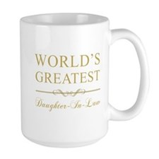 World's Greatest Daughter-In-Law Mug