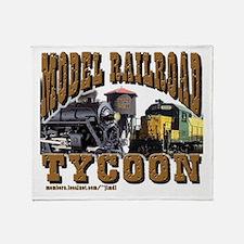 Model Railroad Tycoon - Throw Blanket