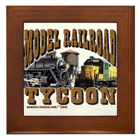 Model Railroad Tycoon - Framed Tile