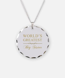 World's Greatest Big Sister Necklace