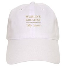 World's Greatest Big Sister Cap