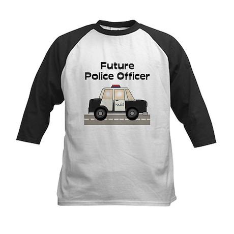 Future Police Officer Kids Baseball Jersey