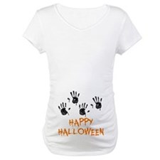 Twin Handprints Halloween Shirt