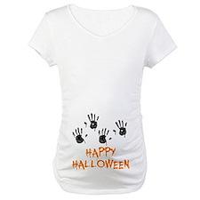 Twin Handprints Halloween Shirt