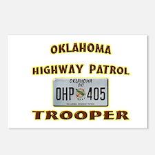Oklahoma Highway Patrol Postcards (Package of 8)