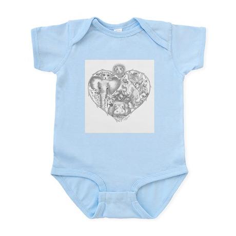 Djuma-Heart of Africa Infant Bodysuit