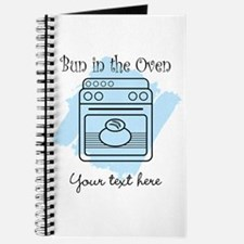 Bun in the Oven (blue) Journal