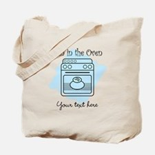 Bun in the Oven (blue) Tote Bag