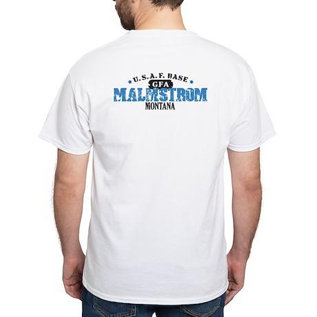Malstrom Air Force Base White T-Shirt