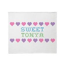 Sweet TONYA Throw Blanket