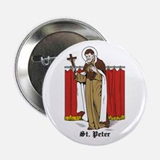 """St. Peter 2.25"""" Button (10 pack)"""