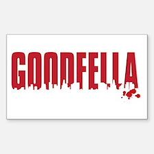 GOODFELLA Sticker (Rectangle)