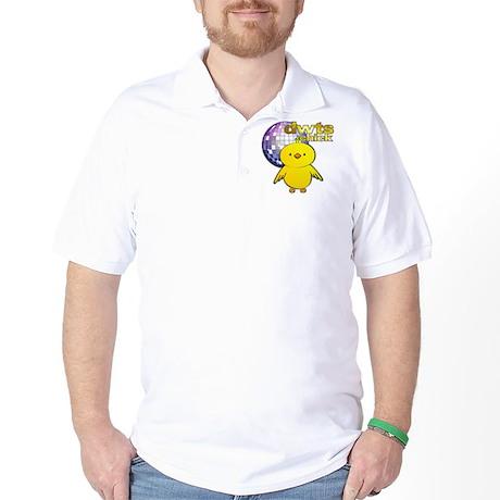 DWTS Chick Golf Shirt