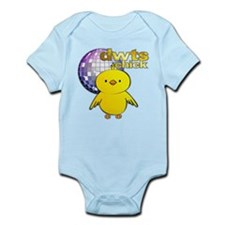DWTS Chick Infant Bodysuit