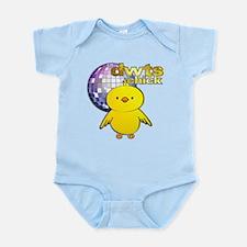 DWTS Chick Infant Bodysuit