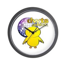 DWTS Chick Wall Clock