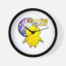 DWTS Chick Wall Clock