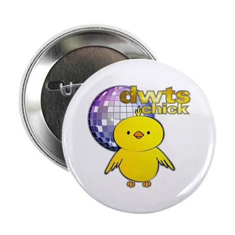 """DWTS Chick 2.25"""" Button (10 pack)"""