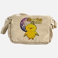 DWTS Chick Canvas Messenger Bag