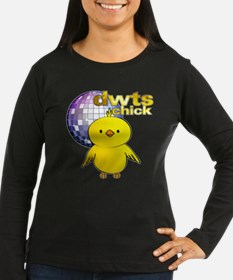 DWTS Chick Women's Dark Long Sleeve T-Shirt