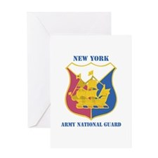 DUI-NEW YORK ANG WITH TEXT Greeting Card