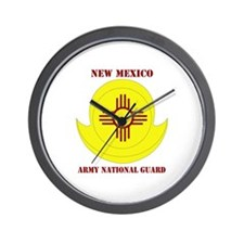 DUI-NEW MEXICO ANG WITH TEXT Wall Clock