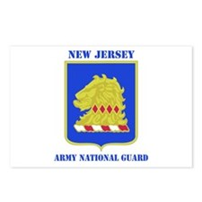 DUI-NEW JERSEY ANG WITH TEXT Postcards (Package of