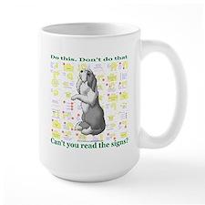 Can't You Read: Beardie Mug