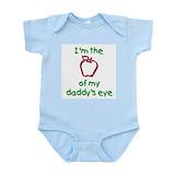 Apple of daddy 27s eye Bodysuits