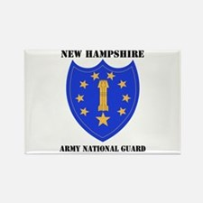 DUI-NEW HAMPSHIRE ANG WITH TEXT Rectangle Magnet