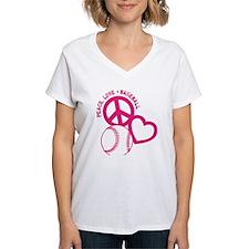 Peace, Love & Baseball Shirt