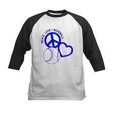 Peace, Love & Baseball Tee