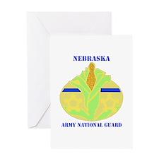 DUI-NEBRASKA ANG WITH TEXT Greeting Card