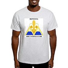 DUI-MONTANA ANG WITH TEXT T-Shirt
